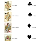 Les Couleurs de Cartes - Playing Card Suits