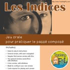 Les Indices - Clue-style oral French passe compose game