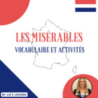 &quot;Les Miserables&quot; French Vocabulary, Activities, and Film Critique