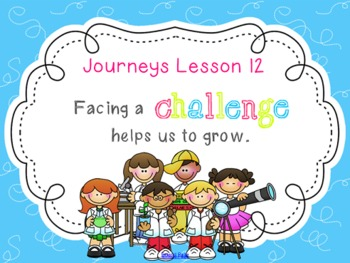 Lesson 12: Houghton Mifflin Journeys 3rd Grade for SMART Board