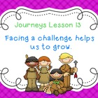 Lesson 13: Houghton Mifflin Journeys 3rd grade for SMART Board