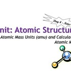 Lesson Plan: Atomic Structure: Atomic Mass Calculations -