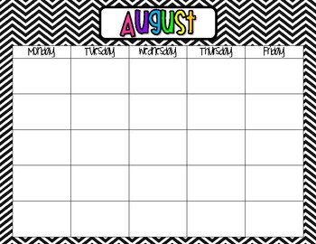 Lesson Plan Book - Chevron