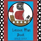 Lesson Plan Book Cover - PIRATE