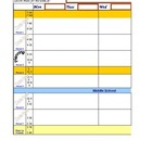 Lesson Plan Book using Excel