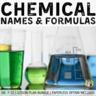 Lesson Plan Bundle: Naming & Formula Writing (Ionic & Mole
