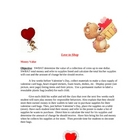 Lesson Plan - Love to Shop Valentines Day