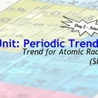 Lesson Plan: Periodic Table Trends - Atomic Size