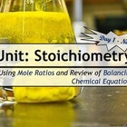 Lesson Plan: Stoichiometry - Mole-Mole Calculations