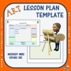 Lesson Plan Template - Art