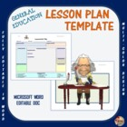 Lesson Plan Template - General Education