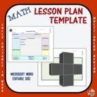 Lesson Plan Template - Math
