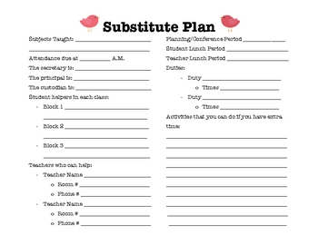 Lesson Plan Template Pack