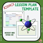 Lesson Plan Template - Science