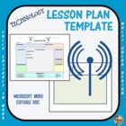Lesson Plan Template - Technology