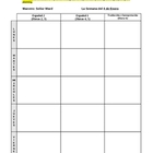 Lesson Plan Template (Year-long calendar/planner)