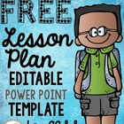 Lesson Plan Template aligned with Common Core Curriculum -