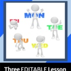 Lesson Plan Templates (3) That Are Simple and Easy to Use