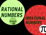 Lesson: Rational and Irrational Numbers