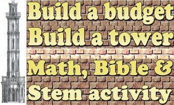 Lesson plan: Build a budget, build a tower (Bible)