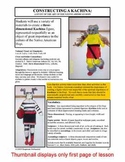 Lesson plan. Constructing a Kachina:  Art of the Native Am