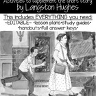 "Lessons and Handouts for ""Thank You Ma'am"" by Langston Hughes"