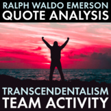Lessons in Nature from Ralph Waldo Emerson – Discussion Materials