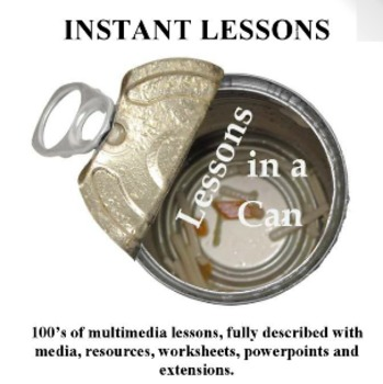 Lessons in a Can - Hundreds of lessons, printables, media