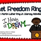 Let Freedom Ring!  Dr. Martin Luther King Jr. Literacy Activities