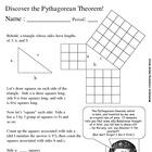 Let Pythagoras show you how Pythagorean Theorem was discovered!