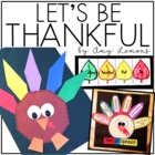 Let&#039;s Be Thankful! {Literacy and Thanksgiving Book Activities}