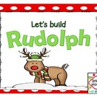 Let's Build Rudolph! {Freebie}