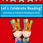 Let&#039;s Celebrate Reading! {A Craftivity Pack for March}