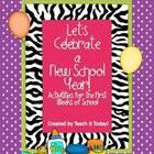 Let's Celebrate a New Year! Back to School Centers and Activities