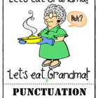 Let's Eat Grandma! Classroom Punctuation Poster