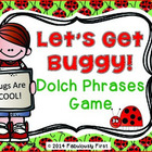 Let's Get Buggy! Dolch Phrases Game