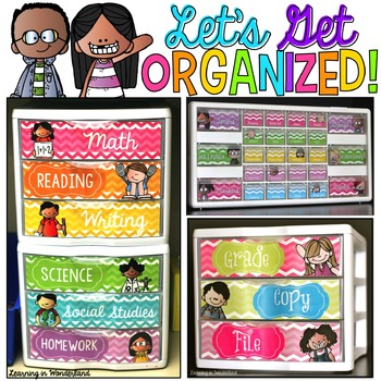 Let's Get Organized {Melonheadz Kids Edition - Teacher Toolbox and More!}