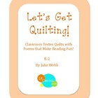 Let's Get Quilting! Craftivities