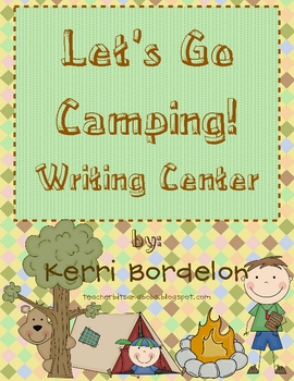 Let's Go Camping! Writing Center