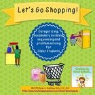 Let&#039;s Go Shopping! {for categorizing, problem solving and 