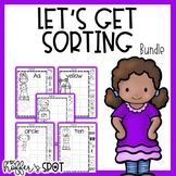 Let's Go Sorting: Mega Bundle {cut n' paste, center & anch