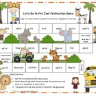 Let's Go to the Zoo! Contraction Game Literacy Station RF.