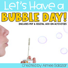 Let's Have a Bubble Fun Day! {Common Core Aligned}