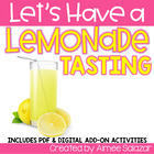 Let's Have a Lemonade Tasting! {Common Core Aligned}