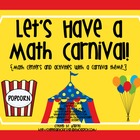 Let&#039;s Have a Math Carnival!