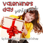 Lets Have a Party Valentine Party Pack by Kim and Wendy