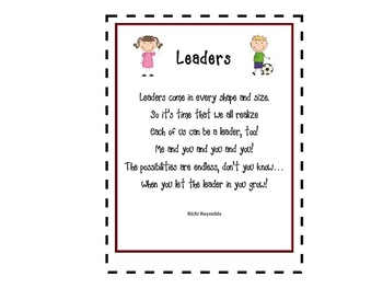 Let's Lead: A Literacy Unit for Leaders