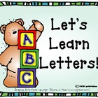 Let&#039;s Learn Letters