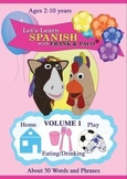 Let's Learn Spanish with Frank & Paco Volume 1 DVD