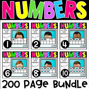 Numbers 1-10 Bundle
